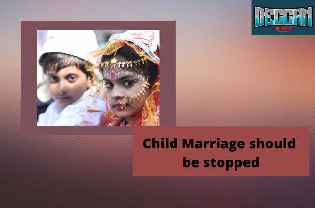 child marriage should be stopped