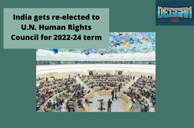 India gets reelected in UNHRC
